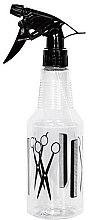 Parfumuri și produse cosmetice Pulverizator pentru apă 00173, 500 ml, transparent - Ronney Professional Spray Bottle 173