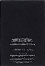 Cerruti 1881 Black - Apă de toaletă — Imagine N2