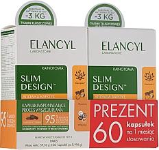 Set - Elancyl Slim Design Weight Loss (capsule/2x60ml) (2x60bucăți) — Imagine N1