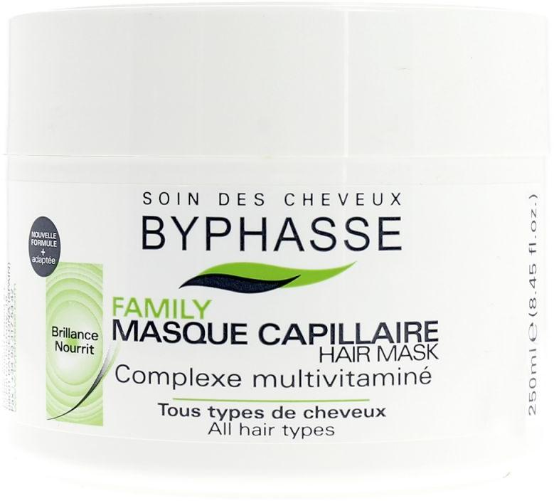 Mască pentru toate tipurile de păr cu complex de multivitamine - Byphasse Family Multivitamin Complexe Mask — Imagine N1