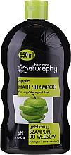 "Parfumuri și produse cosmetice Șampon pentru păr uscat și deteriorat ""Măr"" - Bluxcosmetics Naturaphy Apple Hair Shampoo"