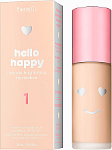 Parfumuri și produse cosmetice Fond de ten - Benefit Hello Happy Flawless