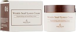 Parfumuri și produse cosmetice Cremă anti-îmbătrânire cu extract de mucină de melc - The Skin House Wrinkle Snail System Cream