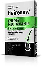 """Parfumuri și produse cosmetice Complex inovator de păr """"Vitaminizarea părului timp de 30 de zile"""" - Hairenew Energy Multivitamin Extra Treatment Complex"""