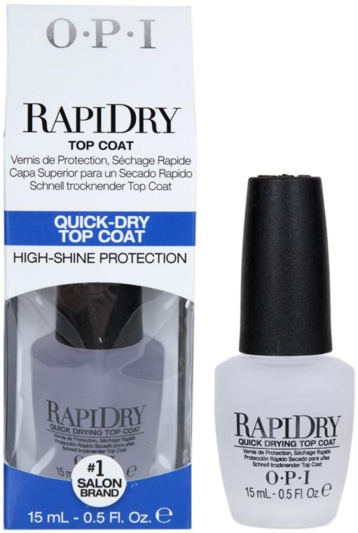 Fixator, uscare rapidă - O.P.I RapiDry TopCoat — Imagine N1