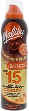 Parfumuri și produse cosmetice Spray de protecție solară pentru corp - Malibu Continuous Dry Oil Spray SPF 15