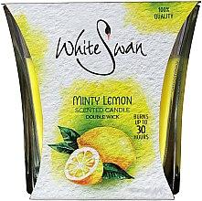"Parfumuri și produse cosmetice Lumânare aromată ""Mint Lemon"" - White Swan Lovely Minty Lemon"