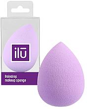 Parfumuri și produse cosmetice Burete de machiaj, mov - Ilu Sponge Raindrop Purple