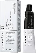 Parfumuri și produse cosmetice Peeling facial - D'Alchemy Natural Micro? Dermabrasion Peel