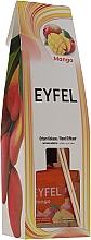 "Parfumuri și produse cosmetice Difuzor aromatic ""Mango"" - Eyfel Perfume Reed Diffuser Mango"