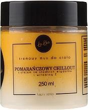 """Parfumuri și produse cosmetice Cremă-mousse cu vitamina E pentru corp """"Orange Delight"""" - Lalka"""
