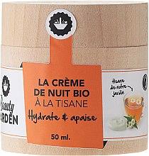 Cremă din plante pentru față - Beauty Garden Night Cream — Imagine N1