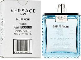 Versace Man Eau Fraiche - Apă de toaletă (tester fără capac) — Imagine N2