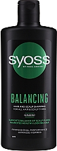 Parfumuri și produse cosmetice Șampon cu ginseng pentru toate tipurile de păr și scalp - Syoss Balancing Ginseng Shampoo