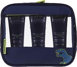 Parfumuri și produse cosmetice Set - Baylis & Harding Men's Citrus Lime & Mint Bag(hair/body/wash/100ml+face/wash/100ml+a/sh/balm/100ml+acc)