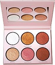 Parfumuri și produse cosmetice Iluminator - LP Makeup L'Essentiel Paper Highlight Palette