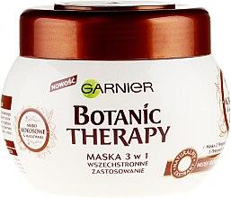 """Parfumuri și produse cosmetice Mască de păr """"Lapte de nucă de cocos și Ulei de Macadamia"""" - Garnier Botanic Therapy"""