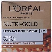 Parfumuri și produse cosmetice Cremă de zi pentru hidratarea tenului - L'Oreal Paris Nutri Gold Day Cream