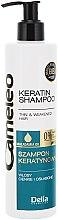 Șampon cu keratină pentru păr - Delia Cameleo Shampoo — Imagine N3