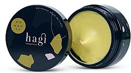 Parfumuri și produse cosmetice Ulei natural cu extract de chihlimbar și ulei de baobab pentru corp, borcan - Hagi Momenty