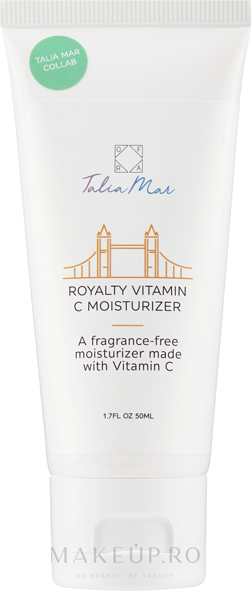 Cremă hidratantă cu vitamina C pentru față - Ofra Talia Mar Royalty Vitamin C Moisturizer — Imagine 50 ml