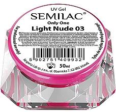 Parfumuri și produse cosmetice Gel de unghii - Semilac Only One UV Gel