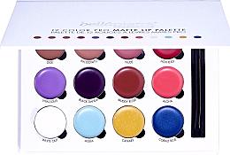 Parfumuri și produse cosmetice Paletă de machiaj pentru buze - Bellapierre 12 Color Pro Matte Lip Palette