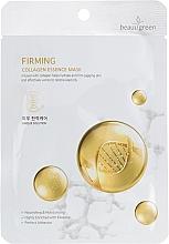 Parfumuri și produse cosmetice Mască de țesut pentru față - Beauugreen Essence Mask Firming Collagen