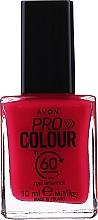 "Parfumuri și produse cosmetice Lac de unghii ""60 secunde"" - Avon Pro Colour In 60 Seconds Nail Enamel"