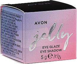 Parfumuri și produse cosmetice Fard mousse de ochi - Avon Jelly Eye Glaze Eye Shadow