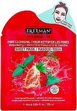 Parfumuri și produse cosmetice Mască de față - Freeman Feel Beautiful Pore Cleansing Sheet Mask