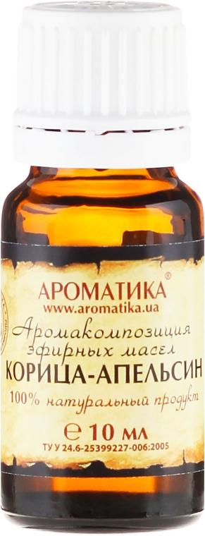 """Ulei aromat """"Portocală scorțișoară"""" - Aromatika — Imagine N2"""