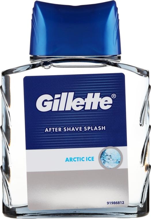 Loțiune după ras - Gillette Series Arctic Ice After Shave Splash Bold — Imagine N3