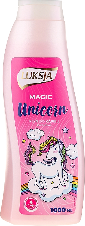 Spumă de baie - Luksja Magic Unicorn Bath Foam