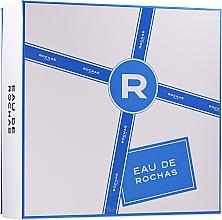 Parfumuri și produse cosmetice Rochas Eau De Rochas - Set (edt/100ml + b/lot/100ml + sh/g/100ml)