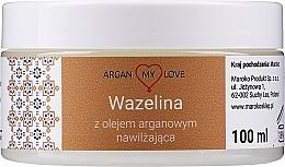 Parfumuri și produse cosmetice Vaselină cu ulei de argan pentru față și corp - Argan My Love