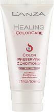 Parfumuri și produse cosmetice Balsam de protecție a culorii părului - L'Anza Healing ColorCare Color-Preserving Conditioner (mini)