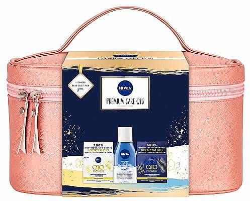 Set - Nivea XMax Premium Care Q10 (day/cr/50ml+night/cr/50ml+remover/125ml+bag) — Imagine N1