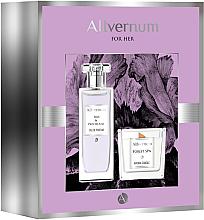 Parfumuri și produse cosmetice Allvernum Iris & Patchouli - Set (edp/50ml + candle/100g)