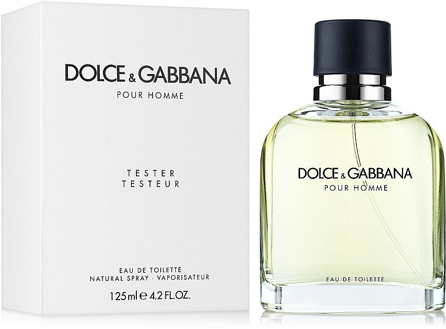 Dolce & Gabbana Pour Homme - Apă de toaletă (tester cu capac) — Imagine N2