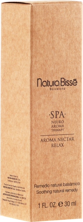 Ulei relaxant de corp - Natura Bisse Spa Neuro-Aromatherapy Aroma Nectar Relax — Imagine N2
