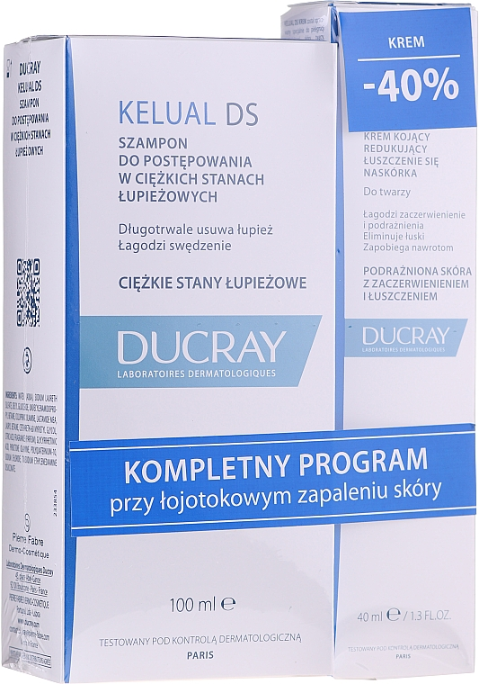 Set - Ducray Kelual Ds Set (shm/100ml + cream/40ml) — Imagine N1