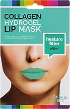 Parfumuri și produse cosmetice Mască de hidrogel cu colagen pentru buze - Beauty Face Collagen Hydrogel Lip Mask Hyaluro Filler