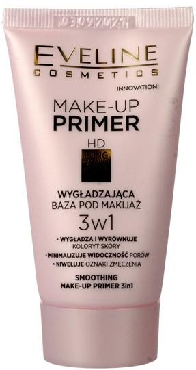 Bază pentru machiaj - Eveline Cosmetics Smoothing Make-up Primer 3v1