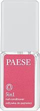 Parfumuri și produse cosmetice Tratament pentru unghii Întăritor 5 in 1 - Paese Treatments 5 in 1