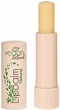 """Parfumuri și produse cosmetice Balsam de buze """"Natural"""" - Vegan Natural Lip Balm For Vegan Natural"""