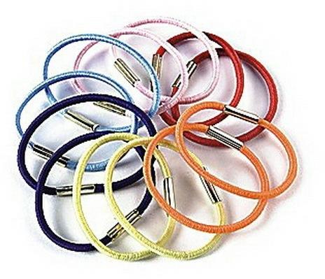 Set elastice de păr, FA-9874, 12 buc. - Donegal — Imagine N1