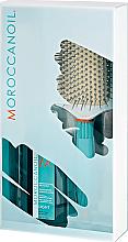 Parfumuri și produse cosmetice Set - Moroccanoil (h/oil/100ml + brush)