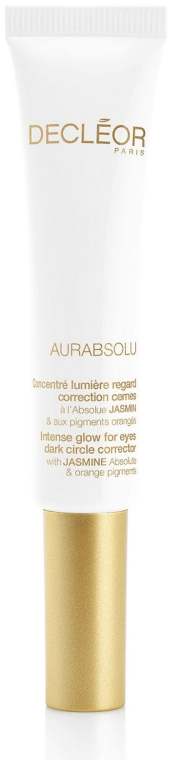 Cremă pentru conturul ochilor - Decleor Aurabsolu Intense Glow For Eyes Dark Circle Corrector  — Imagine N1
