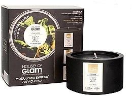 Parfumuri și produse cosmetice Lumânare aromată - House of Glam Oak Moss Sage Candle